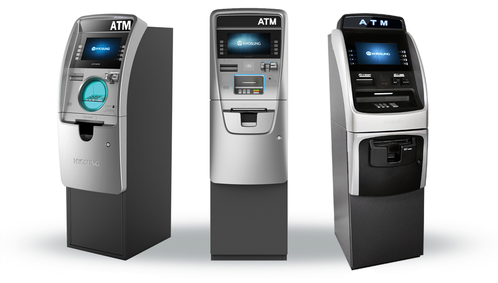 3 Different ATM Machines