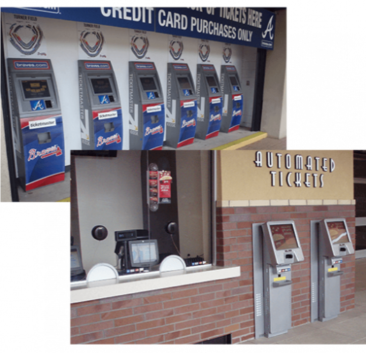 Custom Kiosks with ATMs, Automated Tickets, and Cashier Registers