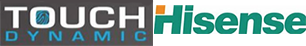 Touch Dynamic and Hisense Logo