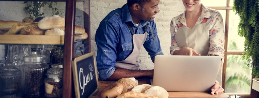 Small Business Owners in a Bakery